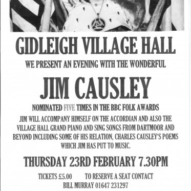 An evening with Jim Causley