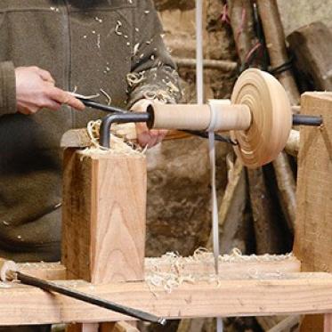 Pallet Stool Workshop