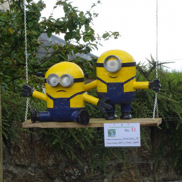 THE GREAT SUMMER SCARECROW TRAIL!