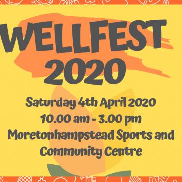 Wellfest 2020 - POSTPONED
